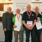 LG Senioren 2 mit Georg Haberbauer (Silber)