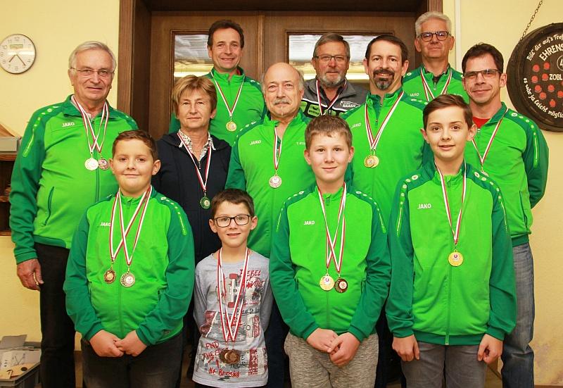 Medaillengewinner UNION Landesmeisterschaft 2019