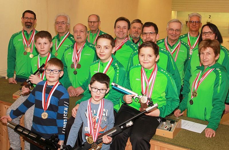 Medaillengewinner Bezirksmeisterschaft 2020